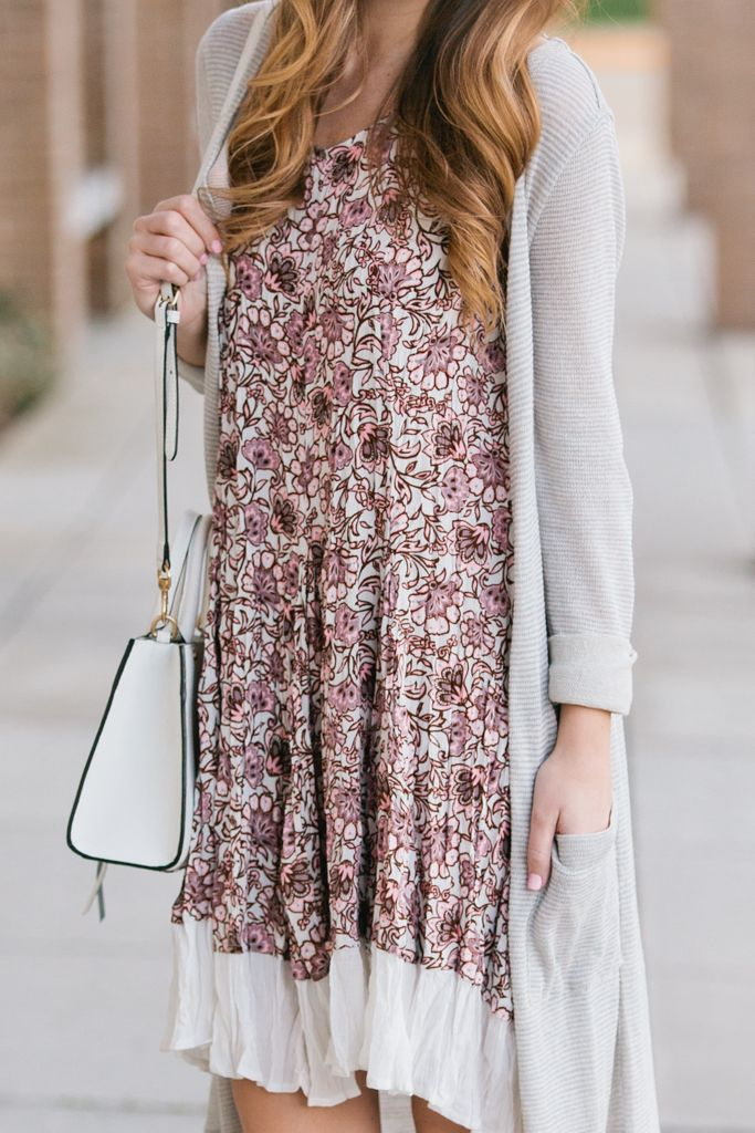 Floral Spring Dress featuring @shopjoyworks | Twenties Girl Style