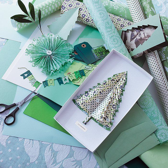 25 best marie claire idees images on pinterest diy for Kitchen colors with white cabinets with papier cadeau noel
