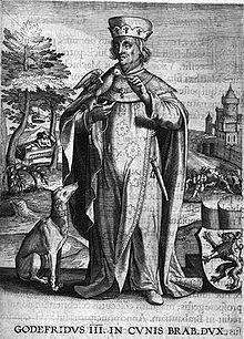 Godfrey III, Count of Louvain - 27th grandfather
