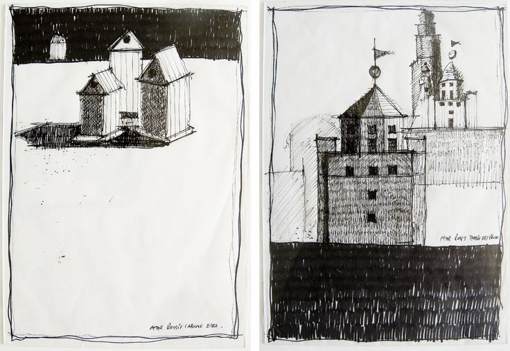Sketch Studies after Architect Aldo Rossi