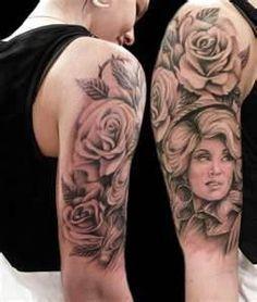 dolly parton tattoo