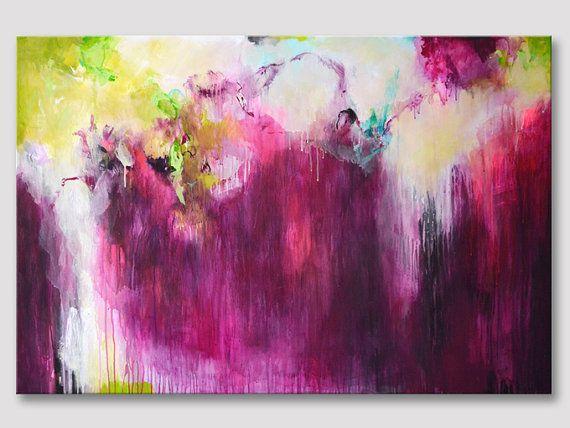 Original große XXL abstrakte Malerei extra große von ARTbyKirsten