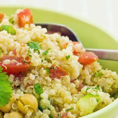 Receita de salada de quinoa com chia   Minha Vida