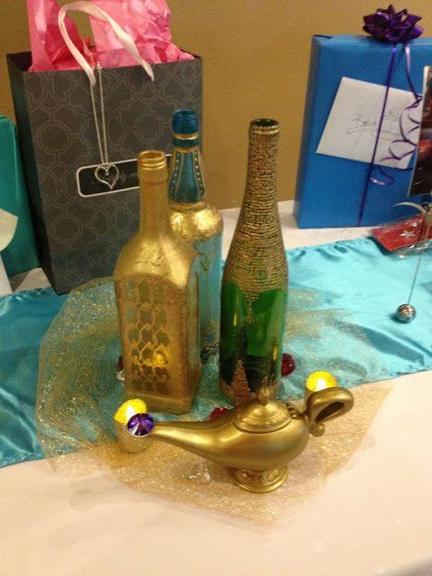 Aladdin Themed Table