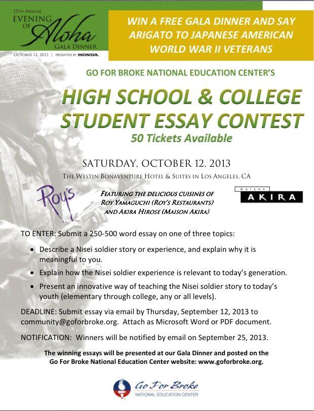 wyzant essay contest