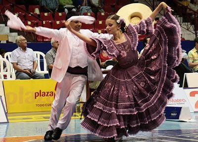 Marinera Norteña- Peruvian dance. North coast