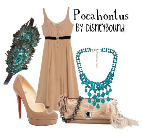 Yet another Pocahontas outfit!