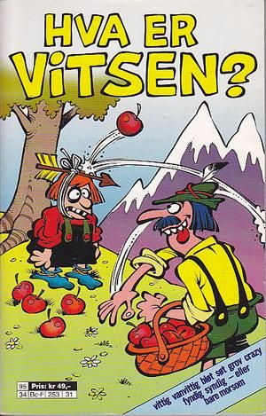 """""""Hva er vitsen?"""" av Øivind Brekke"""