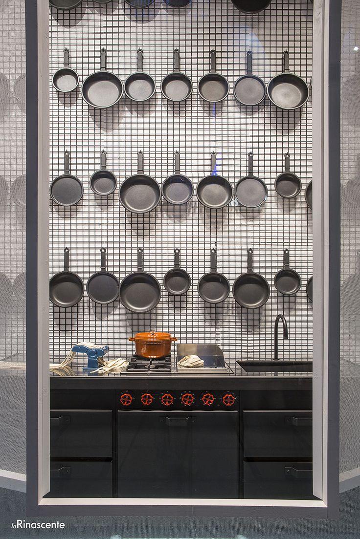 #minacciolo #blowupkitchen #minakitchen #milan #larinascente #elledecoritalia #design  © Blow Up Kitchen&Bathroom Concept e Progetto: Elisa Ossino Studio per Elle Decor Italia Foto: Paolo Bramati