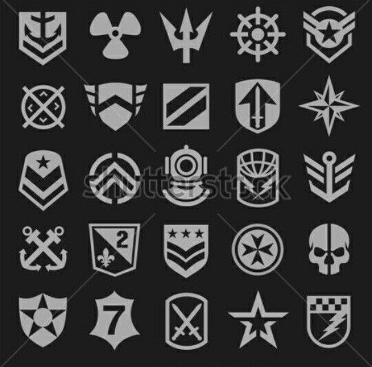 Military symbols 3