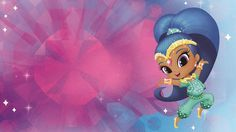 It's time to dazzle with this Shine wallpaper from Shimmer & Shine! Just save the image to your computer and set it as a desktop background for a great glittering feel that your whole family can appreciate.