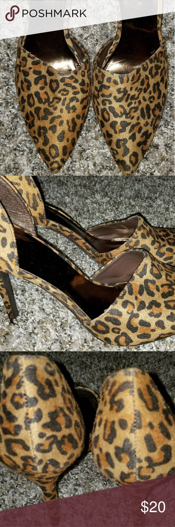 Shoes Sexy Animal Print High Heels,  new without tags, smoke free,  pet free home. & Other Stories Shoes Heels
