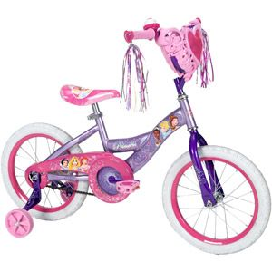 "16"" Huffy Disney Princess Girls' Bike with Heart Basket   #DisneyPrincessWMT"