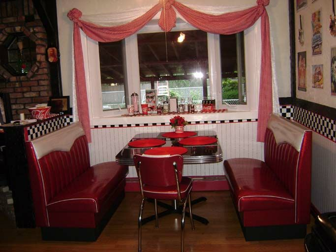 47 best 50s diner kitchens images on pinterest 50s diner for 50s diner style kitchen