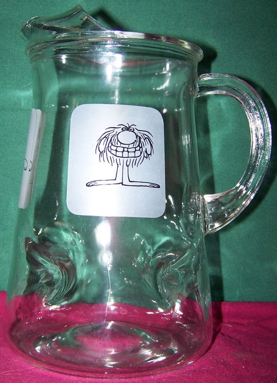 BC Comics Glass Pitcher Grog B. C. &  Fat by MoonbearConnections