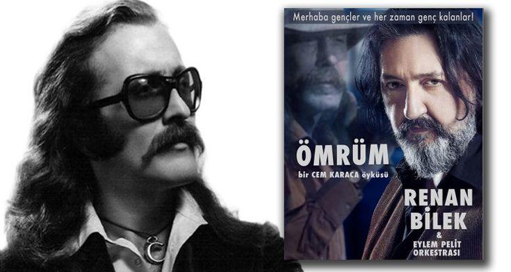 Türk müziğinin efsane ismi Cem Karaca'nın hayatı sahneleniyor. Tek kişilik müzikali Renan Bilek yazdı ve oynuyor.  http://724kultursanat.com/cem-karacanin-hayati-sahneleniyor/ #cemkaraca #renanbilek #omrum #724kultursanat
