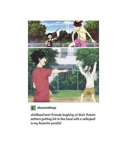 Haikyuu!! - Iwaizumi & Oikawa, Kuroo & Kenma