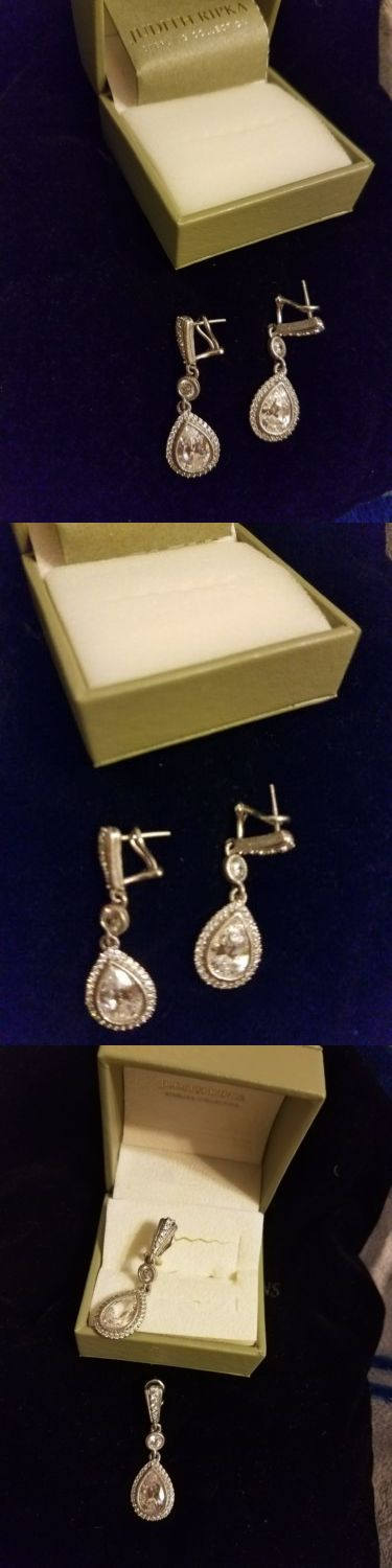 Other Fine Earrings 10984: Judith Ripka Earrings -> BUY IT NOW ONLY: $86.59 on eBay!