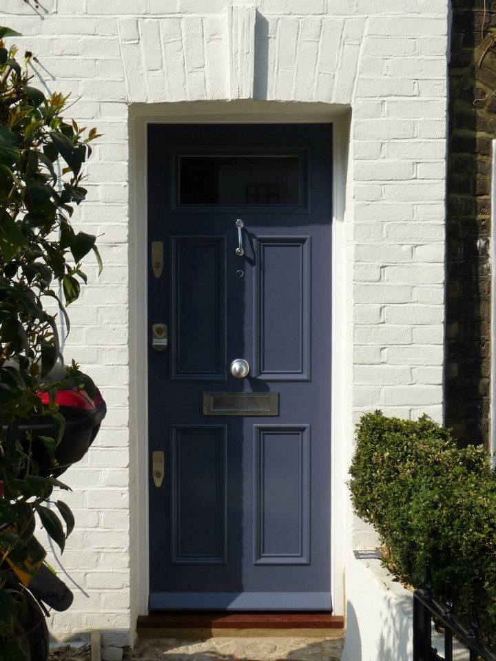 The london door company 39 grey thunder 39 paint colour for Exterior door companies