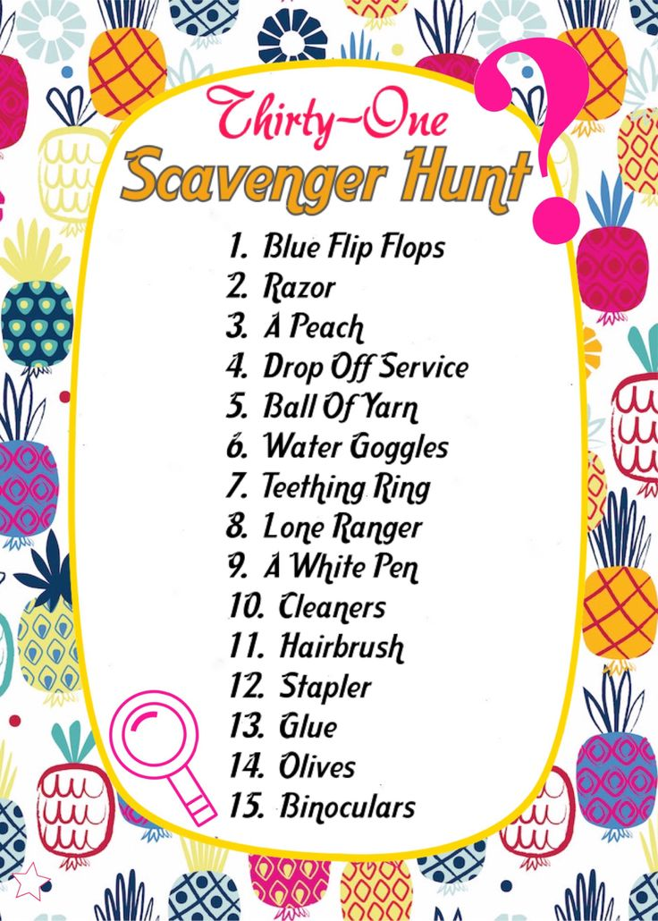 Thirty-One spring/summer 2018 catalogue Scavenger hunt. Game for Facebook VIP group. www.mythirtyone.ca/sabrinawhite