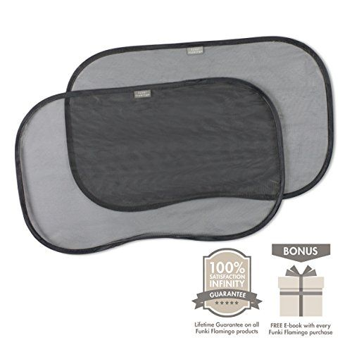 Sunshade Baby - Side Window Shade Sun Shields for Car Windows - Easy to Attach Window Shades for Cars - 2 Pack