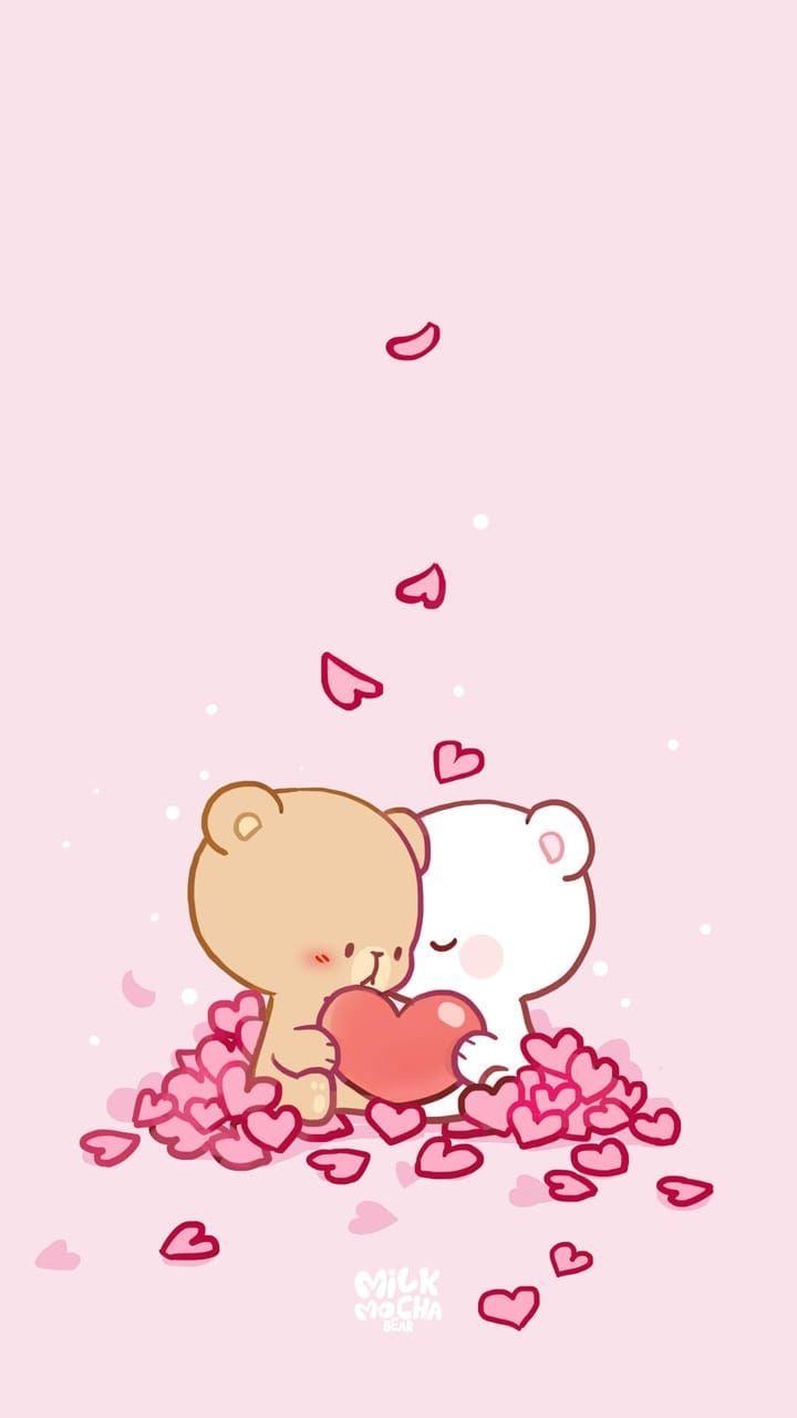 Stories Instagram Cute Bear Drawings Cute Cartoon Wallpapers Cute Couple Wallpaper