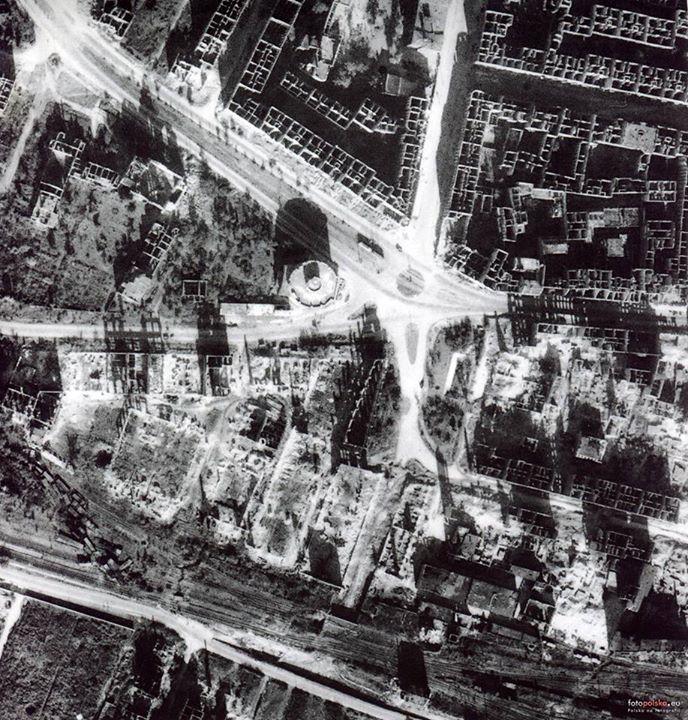 Plac Strzegomski, Wrocław, 1945