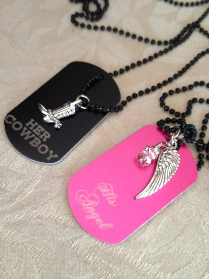 Cute Girlfriend Boyfriend Country Necklaces I Want