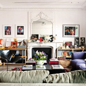 Квартирный тур: Парижская квартира Айрин и Томаса Кохенов