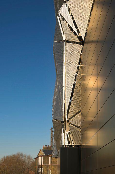 Greenwich Peninsula Low Carbon Energy Centre, London, 2016 - C. F. Møller Architects