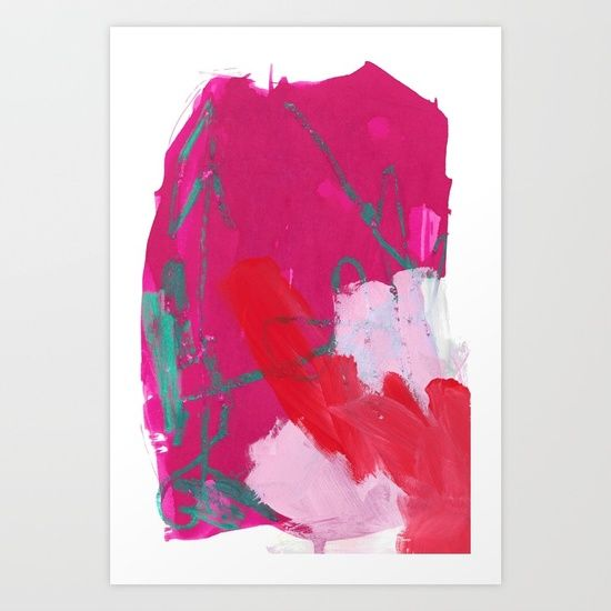 """""""Whatever You Want"""" abstract art by Leanne Simpson. This artwork is available at Society6 as an art print, phone case, tote bag and more! https://society6.com/leannesimpsonart"""
