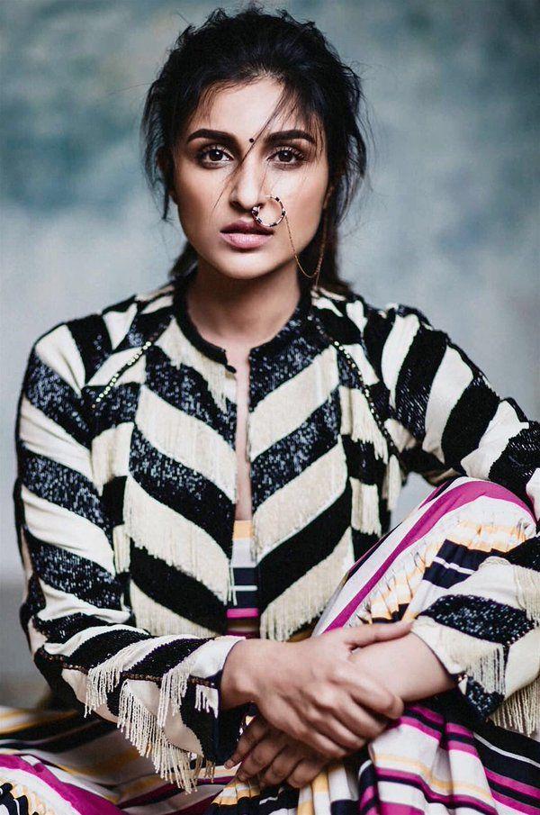 Parineeti Chopra. Photoshootfor Harper Bazaar's Bride India Magazine March 2016 Issue.