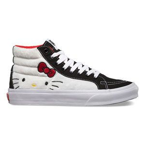 VANS Hello Kitty Sk8-Hi Slim Womens Shoes