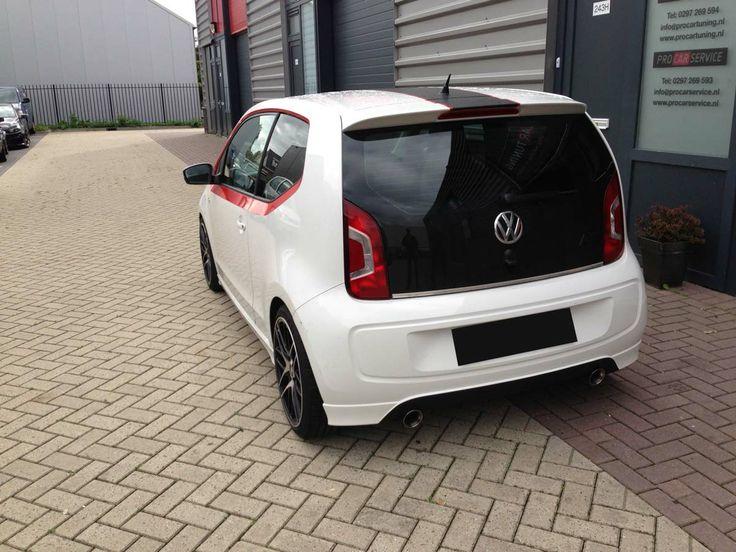 VW Up duplex uitlaatsysteem. http://www.procartuning.nl