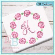 Embroidery Boutique Rose Wreath