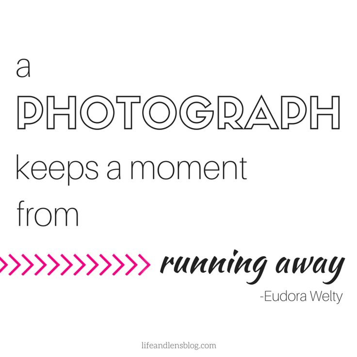 """""""A photograph keeps a moment from running away."""" - Eudora Welty #photography #quotes"""