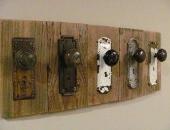 hanger with doorknobs