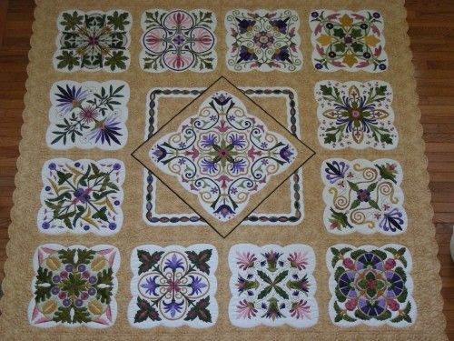 Susan Adams' Magical Medallions quilt-Awesome « Karen Kay Buckley Blog