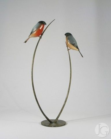 Bronze Sculptures by Adam Binder from The Jerram Gallery, Sherborne, Dorset. Contemporary British sculpture and pictures