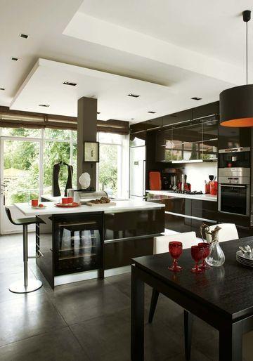 136 best Inspiration cuisine images on Pinterest Dreams, Kitchen - amenager une cuisine ouverte