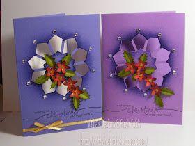 Valita's Designs & Fresh Folds: Another Christmas free form Lattice card
