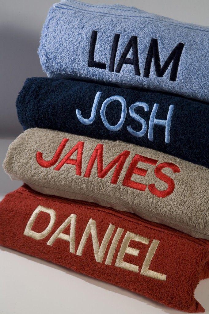 Boys-Towels