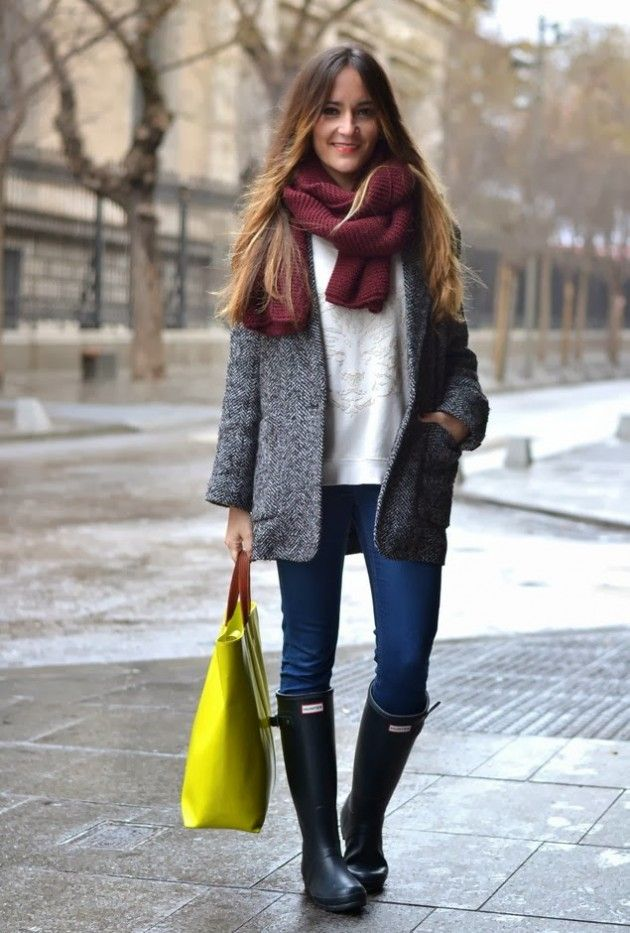 Increíbles botas planas | Moda en estilo hunter