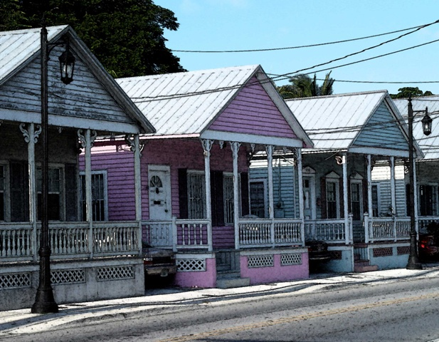 Key West Conch houses