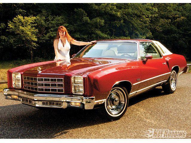 A 1977 Chevy Monte Carlo Landau.
