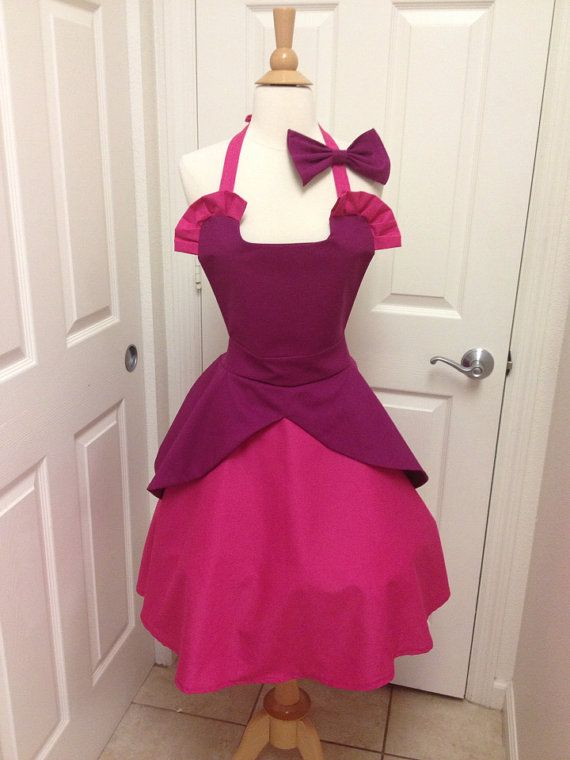 Somebody say evil stepsisters!!    This is Cinderellas evil stepsister Anastasia. Made of cotton.The skirt is a wrap style that provides full coverage in