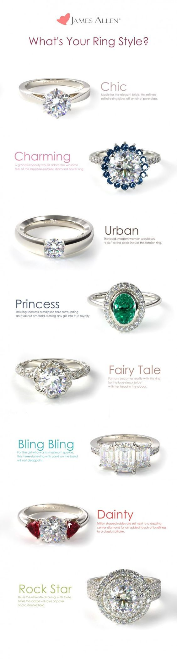 engagement rings and wedding rings / http://www.himisspuff.com/engagement-rings-wedding-rings/11/