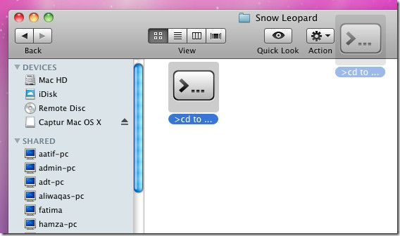 A while back we reviewed a tiny application for Mac, called, Click2Shell, which lets you open current Finder window in Mac Terminal. It supports numerous o