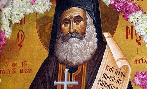 Πνευματικοί Λόγοι: Άγιος Φιλούμενος ο Νεοιερομάρτυρας