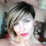 Cristina Chiabotto Natale 2015: il nuovo taglio di capelli fa scalpore